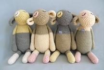Muñecos Crochet y Tejidos/ Dolls crochet/Toys 2 / by Gato Chirolio !