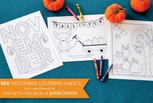 Coloring Pages / by Rachel Miller
