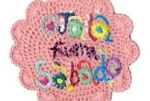 Crochet Bordado/Embroidery / by Gato Chirolio !