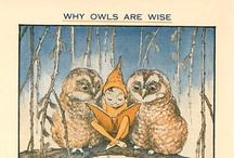 the owls are not what they seem / by Mallyn M