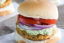 Eat Me: Vegan Burgers. / Delicious cruelty-free burgers! Some of these recipes have cheese or mayo, just substitute! / by The Socially Awkward Ⓥegan.