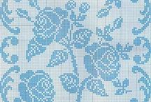 Filet XXX - Blumen, Ranken, Blätter  / by Nicole Dittmann