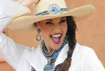 COWGIRL UP!<+> / I LOVE THE SOUTHWEST AND THE WESTERN LOOK , COWGIRL'S  R AWESOME. ITS AN ATTITUDE / by Debbie Sanders