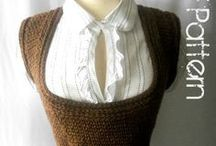 #Crochet Vest-Scoopneck / by GuChet