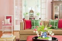 Bright aand Colorful Rooms / by Barbara Law
