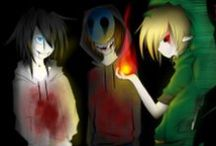 Creepypasta / Creepypasta is my life!!! Ever since I was a little 7 year old girl. It's my family and I love them all / by Broken girl