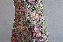Crochet dresses  / by GrammaLizasCrocheting