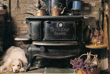 ♪Old Cook Stoves / by Audrey Merchant