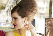 BOUFANT / For fabulously #big #boufant #hairstyles taking your hair to another height!  We love the inspiration that comes from these iconic and classic #hair up's / by UKHairdressers.com
