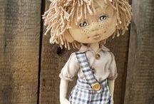 ~Cloth Dolls~ / Lovely handmade cloth dolls. / by Shari Lynne Hawkins