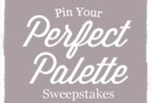 Pin Your Perfect Palette / https://www.facebook.com/SherwinWilliamsforDesignersArchitects/app_545232272186621 RULES: https://facebook.sherwin-williams.com/ad/pin-your-perfect-palette/pdf/PinYourPerfectPaletteDesigners_Rules.pdf / by Kasey Williams