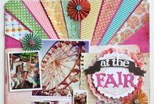 Scrapbook Layouts (State Fair/Amusement Park) / by Pamela Ward
