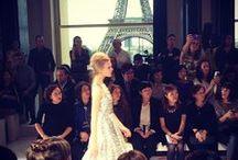Parigi Fashion Week / sfila la moda a parigi primavera estate 2014  / by BARBARA MILANO