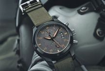 Gentlemen's Chronographs / Chronos are a man's only jewelry.  / by fablife