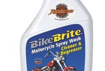 BIKE BRITE / www.bikebrite.com will lead you to some of best cleaning, polishing, and related chemicals in the power-sport / motor-sports industry / by ProRidersMarketing JoeDistefano