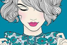 Fashion illustration / by Mariana Lopez