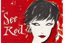 SEE RED____ / by BIBA