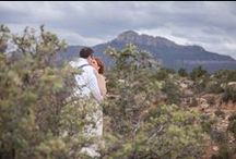 Zion National Park Wedding / Just outside Zion National Park, in Rockville, Utah, September 7, 2013 - just the two of us plus our parents in a beautiful place / by Audra Hodgin Reschly