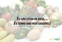 Vida com saúde / diversas maneiras de viver saudável. / by Carlos Mauricio Lopes Monteiro
