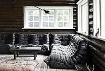 Living Rooms / Where we live. / by Amanda McCullough