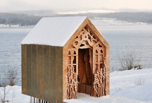 Shacks, Cabins & Getaways / Images of a Variety of Shacks, Cabins, and Getaways. / by William Beard
