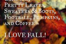 FALL FALL FALL / All year should be Fall / by Myki