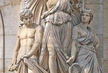 Anjos ● Esculturas ● Estátuas © / by √ictoria
