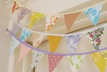 Garlands,Banners and Buntings / by Tami Haney
