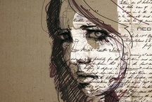 Art Journals and Visual Diaries- mixed media / by Rebecca Ayache