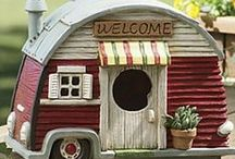 Birdhouses / Fairyhouses / Dollhouses / and everything that goes along with them / by Connie Hoffman