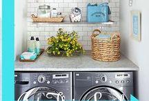 laundry & mud room design / by Angela Birum