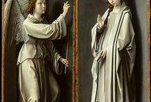 Ikon és szentkép festészet / fatáblára és vászonra  festett szentképek / by Ágnes Pittner