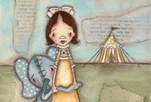 Circus Art by me / by Diane Duda