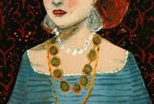 le BIJOU dans la PEINTURE - JEWELRY in ART / How jewellery is represented in paintings  --  Have a look at this BOOK : Le bijou dans la peinture - by Marie-Christine Autin Graz - Skira/Seuil 1999 - 180pp  / by Marianne Gassier