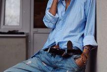 Louca Por Jeans / Amo usar jeans em todos os seus tons, em todos os seus usos em toda sua cor! / by Carmen Diehl