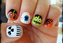 Halloween Inspired Nails / by Ana Parada