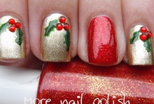 Christmas Inspired Nails / by Ana Parada