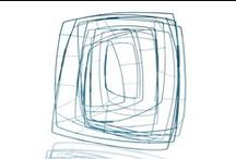 """LINES in JEWELRY / When I think about """"LINES"""" in jewelry, I first think about DRAWING lines, like for Carolina Gimeno or Farrah Al-Dujaili's jewelry ...& then about ARCHITECTURE lines, like for Ute Decker, Biba Schutz, or Donna D'Aquino .... like very fast sketches to wear ... / by Marianne Gassier"""