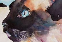 The Art of Cats / by Carla Casaca
