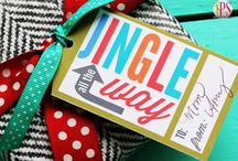 Christmas tags&labels / by Christina Charlton Muller