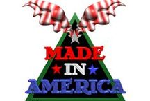 MADE IN AMERICA / Products made in the USA / by Vicky Crawford