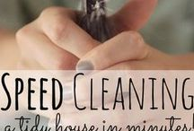 Cleaning / Cleaning a house, car, whatever. / by Linda Mizell Hunter