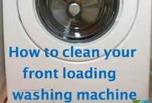 Cleaning: Front Loaders & Laundering / For all your front loader washer & dryer cleaning & laundry queries. / by Auntie Stacey