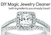 Cleaning: Jewellery / For all of your jewellery cleaning queries. / by Auntie Stacey