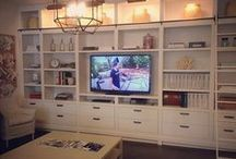 Built in remodel / by Michelle 'Russell' Forst