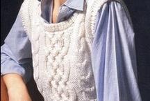 tejido a palitos  o knit / tejido en hilo o lana a palitos / by brigida palomino