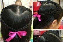 Hairstyles / by Maria Victoria Perez-Ausa
