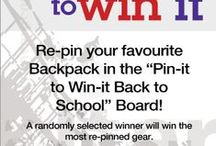 Pin-it to win-it back to school! - CLOSED / Looking for new back to school gear? Look no further; get ready to score a sweet Pacsafe backpack by entering our pin it to win it back to school contest!  / by Pacsafe