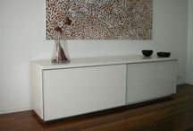 Buffet side board units  / Store display & entertain .  / by Special Things