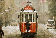 Istanbul d'Aujourdhui / Istanbul today - Board made by Feride Özmat - Istanbul / Turkey / by Feride Ozmat